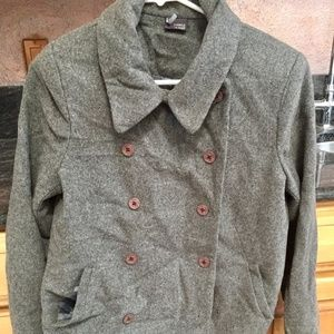 Sparkle & Fade wool peacoat